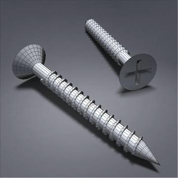 screw03 3d model 3ds max fbx obj 105783