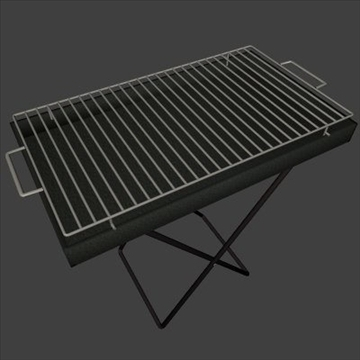 smart grill 3d model 3ds 97477