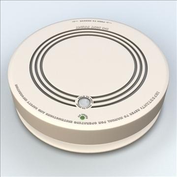 smoke detector 3d model 3ds max lwo hrc xsi obj 106311