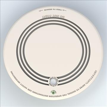 smoke detector 3d model 3ds max lwo hrc xsi obj 106312
