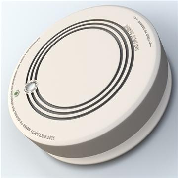 smoke detector 3d model 3ds max lwo hrc xsi obj 106313