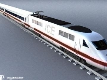 ice train 3d model 3ds lwo 77936