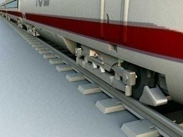 ice train 3d model 3ds lwo 77938