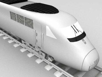ice train 3d model 3ds lwo 77941