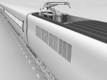 ice train 3d model 3ds lwo 77942