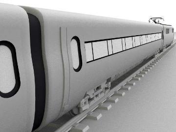 ice train 3d model 3ds lwo 77944