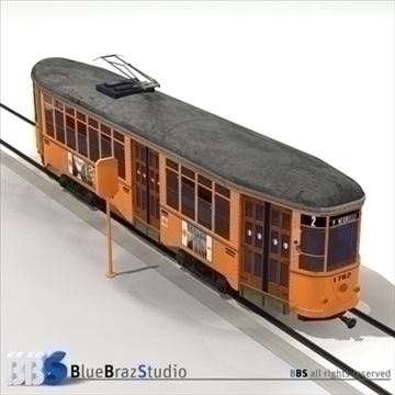 tramway 2 3d model 3ds dxf c4d obj 104238
