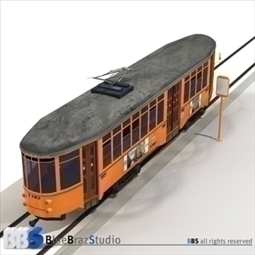tramway 2 3d model 3ds dxf c4d obj 104239
