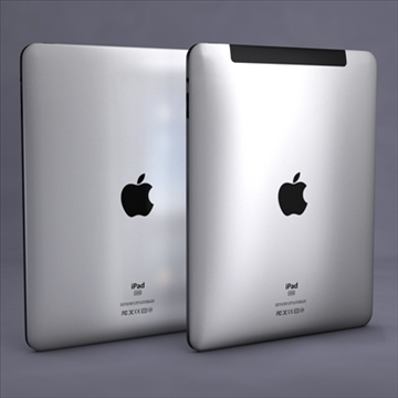 Apple ipad 3d модел 3ds dxf fbx c4d x obj 104443