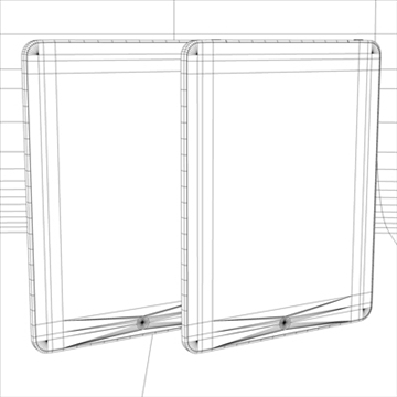 Apple ipad 3d модел 3ds dxf fbx c4d x obj 104451