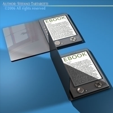 ebook 3d model 3ds dxf c4d obj 81220
