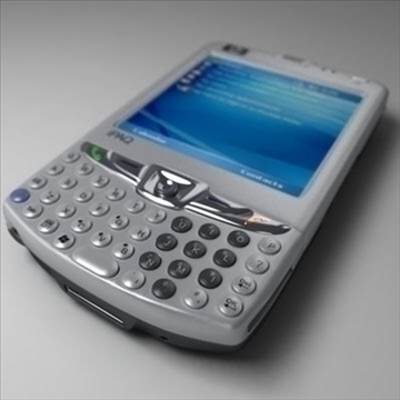 hp ipaq 6xxx communicators 3d model 3ds max fbx obj 108858