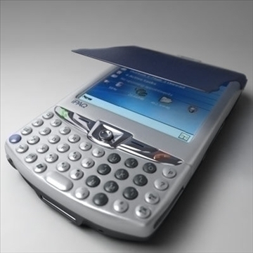 hp ipaq 6xxx communicators 3d model 3ds max fbx obj 108861