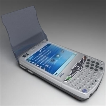 hp ipaq 6xxx communicators 3d model 3ds max fbx obj 108862