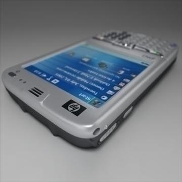 hp ipaq 6xxx komunikatori 3d modelis 3ds max fbx obj 108863