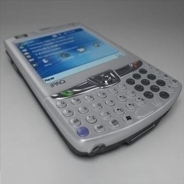 hp ipaq 6xxx communicators 3d model 3ds max fbx obj 108864