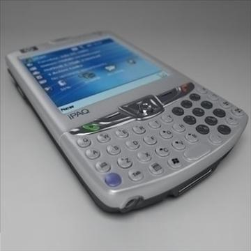 hp ipaq 6xxx komunikatori 3d modelis 3ds max fbx obj 108864