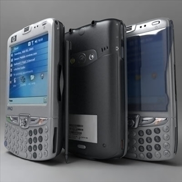 hp ipaq 6xxx communicators 3d model 3ds max fbx obj 108865
