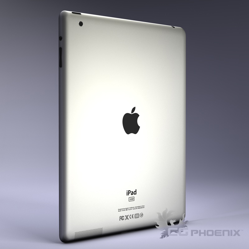 ipad2 3d model 3ds dxf fbx c4d x  obj 113624