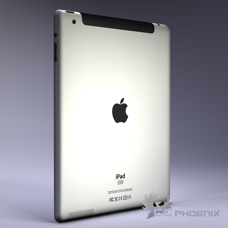 ipad2 3d model 3ds dxf fbx c4d x  obj 113625
