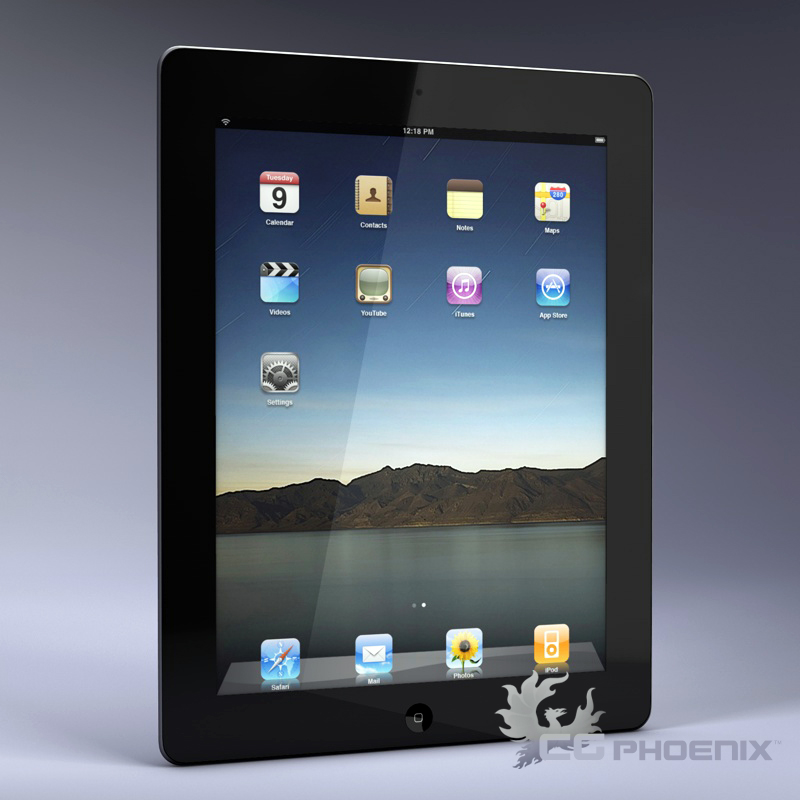 ipad2 3d model 3ds dxf fbx c4d x  obj 113626