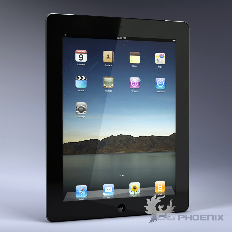 ipad2 3d model 3ds dxf fbx c4d x  obj 113627