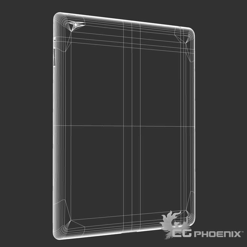ipad2 3d model 3ds dxf fbx c4d x  obj 113629
