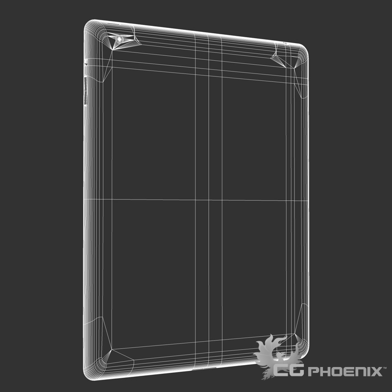 ipad2 3d model 3ds dxf fbx c4d x  obj 113631