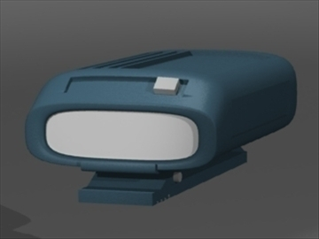 model 2 3d pager 3ds dxf lwo 81123