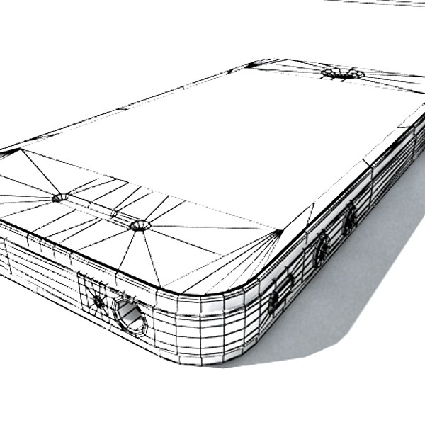 3D Model Apple iPhone 4 High Detail Realistic ( 64.77KB jpg by VKModels )