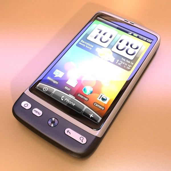 3D Model HTC Desire Photorealistic High Detail ( 73.03KB jpg by VKModels )