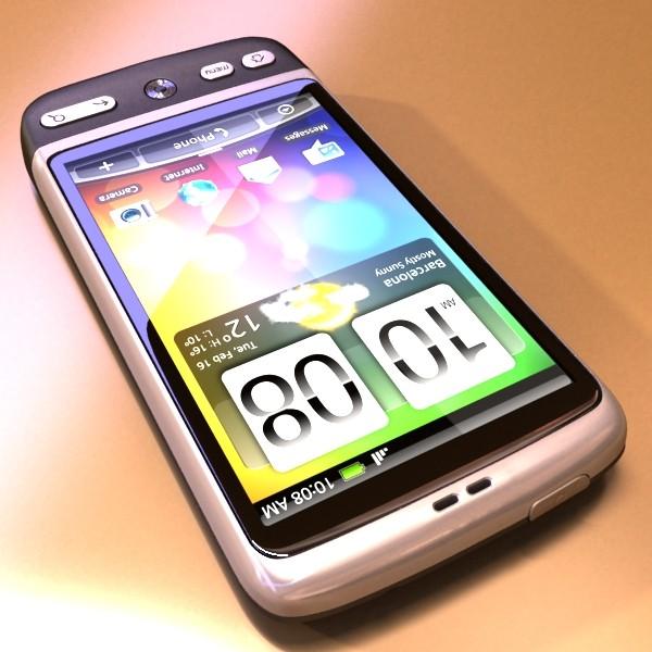 3D Model HTC Desire Photorealistic High Detail ( 79.56KB jpg by VKModels )