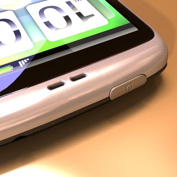 3D Model HTC Desire Photorealistic High Detail ( 56.84KB jpg by VKModels )