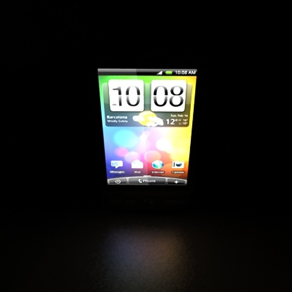 3D Model HTC Desire Photorealistic High Detail ( 24.7KB jpg by VKModels )