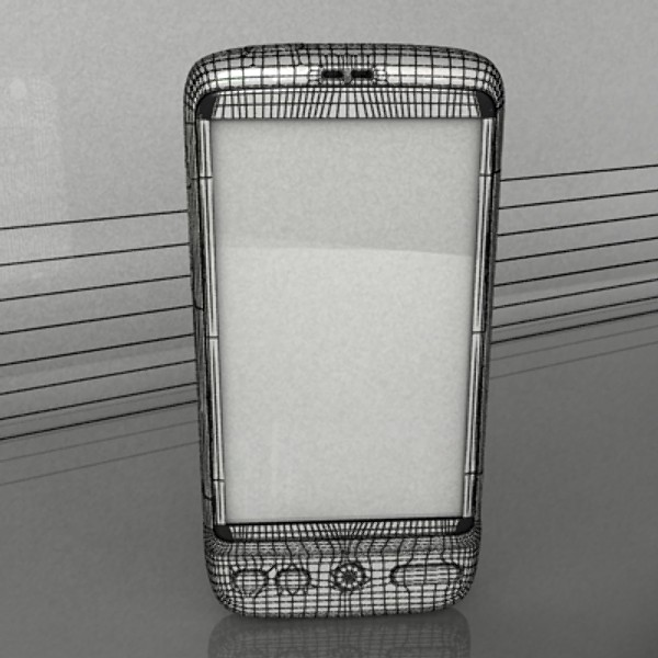 3D Model HTC Desire Photorealistic High Detail ( 66.66KB jpg by VKModels )