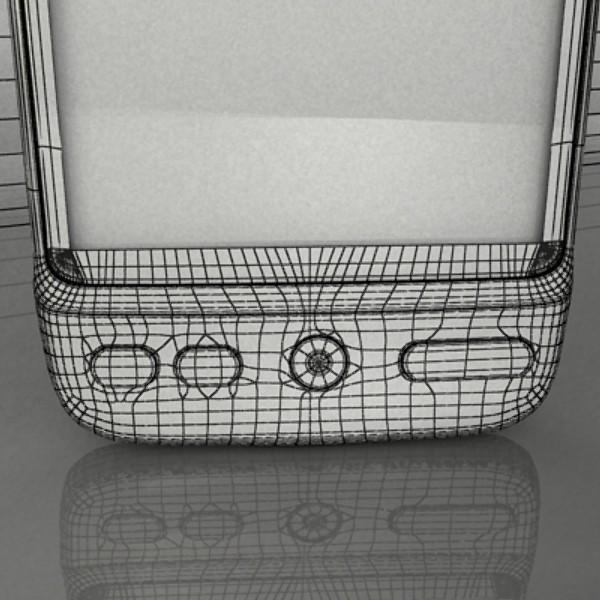 3D Model HTC Desire Photorealistic High Detail ( 83.43KB jpg by VKModels )