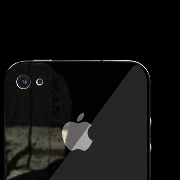 јаболко iPhone 4 висок детаљ реален 3d модел 3ds макс fbx obj 129638