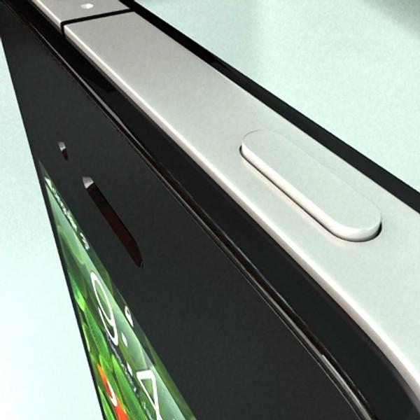 Apple-ийн Iphone 4 өндөр нарийвчилсан бодит 3d загвар 3ds хамгийн их fbx obj 129647
