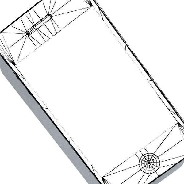 iphone iphone 4 ardleibhéal samhail réadúil 3d 3ds max fbx obj 129654