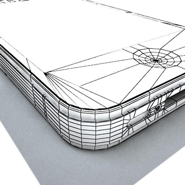 Apple iphone 4 yüksək ətraflı real 3d model 3ds max fbx obj 129655