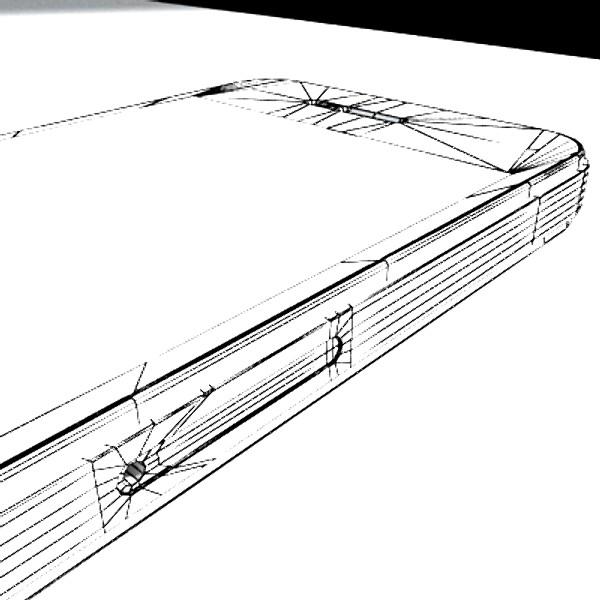 iphone iphone 4 ardleibhéal samhail réadúil 3d 3ds max fbx obj 129657