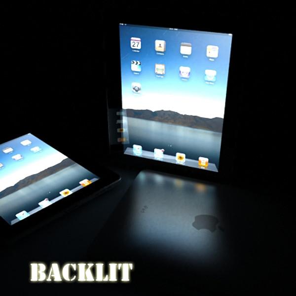 apple iphone 4 & ipad high detail realist 3d model 3ds max fbx obj 129677