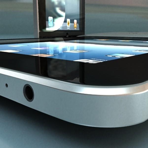 apple iphone 4 & ipad high detail realist 3d model 3ds max fbx obj 129680