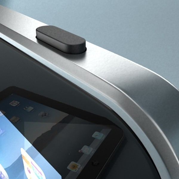 apple iphone 4 & ipad high detail realist 3d model 3ds max fbx obj 129681