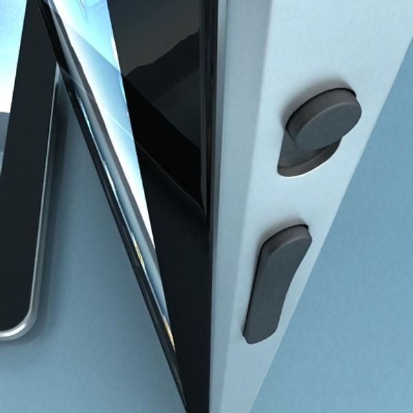 apple iphone 4 & ipad high detail realist 3d model 3ds max fbx obj 129683