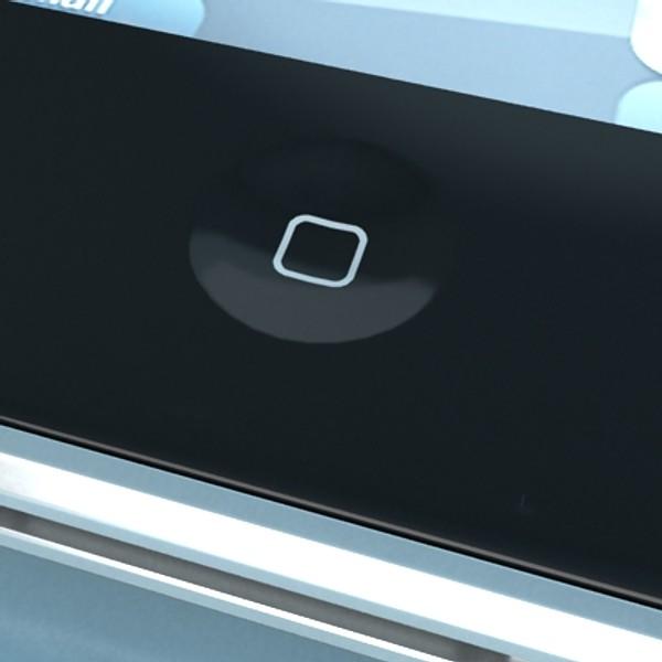 jabuka iphone 4 i ipad visoki detalj realnost 3d model 3ds max fbx obj 129685
