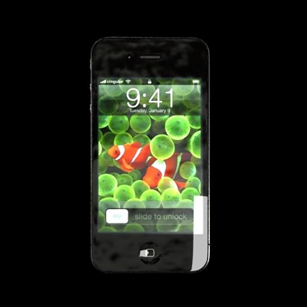 jabuka iphone 4 i ipad visoki detalj realnost 3d model 3ds max fbx obj 129700