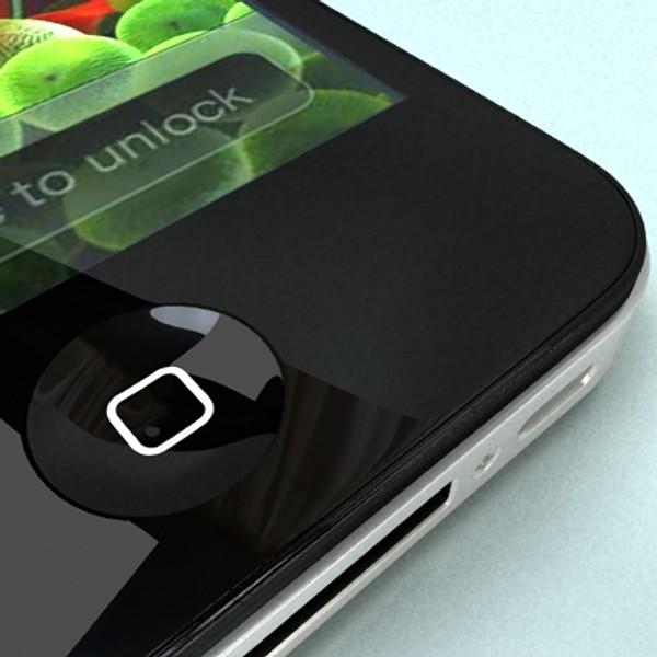 apple iphone 4 & ipad high detail realist 3d model 3ds max fbx obj 129701