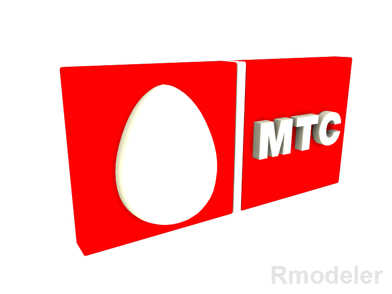 mtc 3d logotip 3d model dae ma mb obj 118811