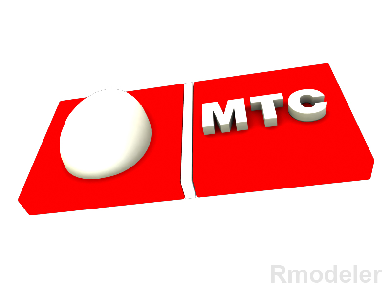 mtc 3d logotip 3d model dae ma mb obj 118813